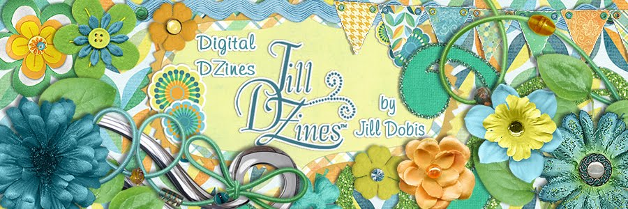 Jill DZines digital scrapbook blog