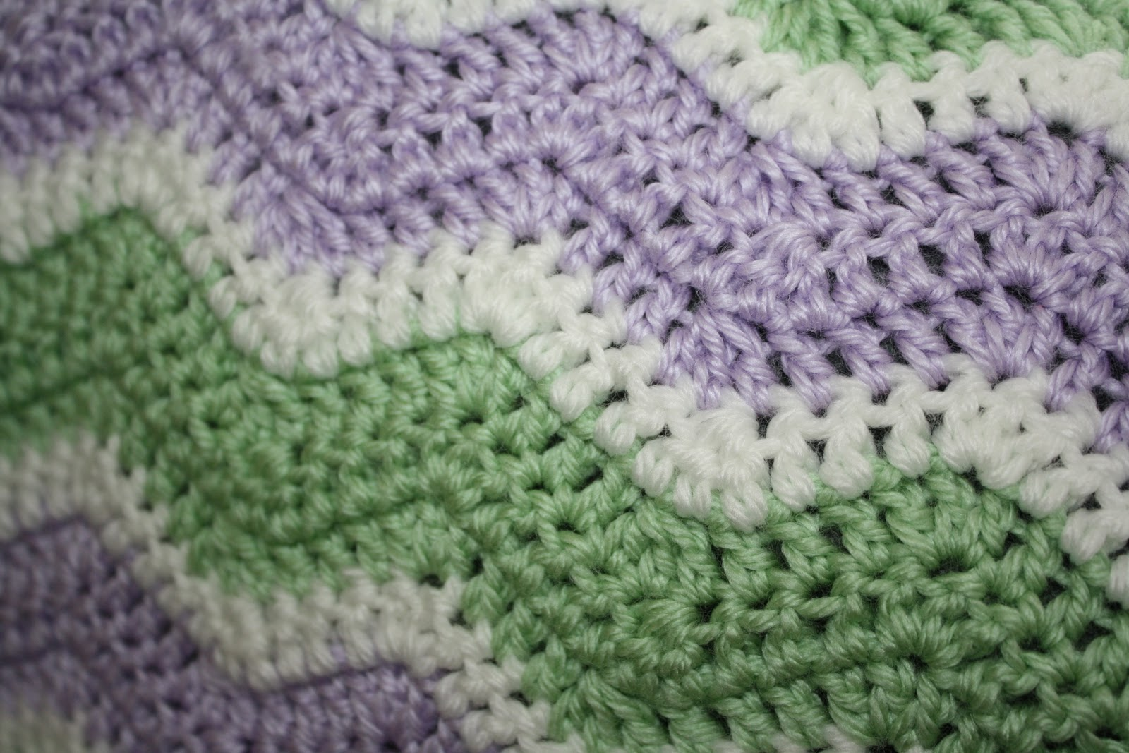 Crochet Ripple Pattern : free double crochet ripple afghan pattern