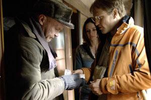 Emily Mortimer y Woody Harrelson en Transsiberian
