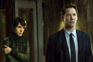 Jennifer Connelly y Keanu Reeves en Ultimátum a la Tierra (2008)