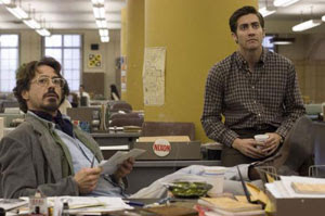Robert Downey Jr. y Jake Gyllenhaal en Zodiac