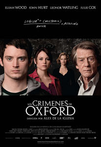 Cartel de Los crímenes de Oxford
