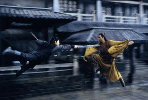 Jet Li y Donnie Yen en Hero