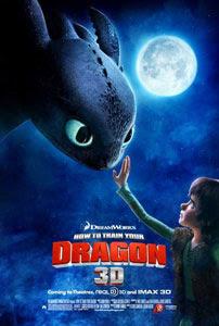 Cartel original de Cómo entrenar a tu dragón