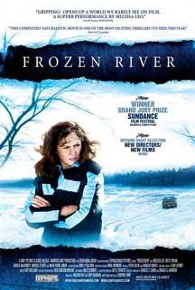 Cartel original de Frozen River (Río helado)