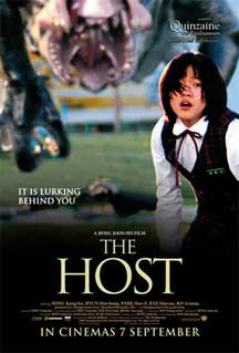 Cartel británico de The Host
