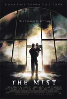Cartel original de La niebla de Stephen King
