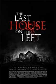 Cartel original de La última casa a la izquierda (2009)