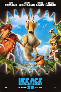 Cartel original de Ice Age 3 - El origen de los dinosaurios