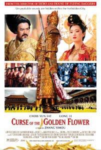 Cartel internacional de La maldición de la flor dorada