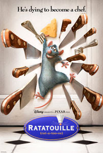 Cartel original de Ratatouille