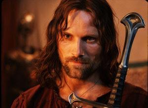 Viggo Mortensen en El Señor de los Anillos: El Retorno del Rey
