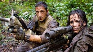 Adrien Brody y Alice Braga en Predators