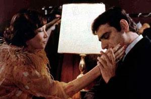 Leslie Caron y Charles Denner en El amante del amor