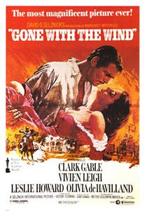 Cartel americano de Lo que el viento se llevó