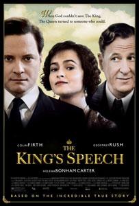 Cartel británico de El discurso del rey