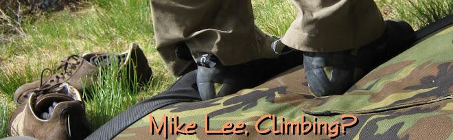 Michael Lee, Climbing?