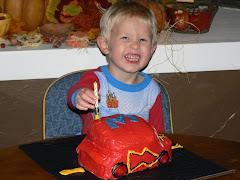 Trez on his 3rd birthday
