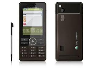 Sony Ericsson G900i smart phone business