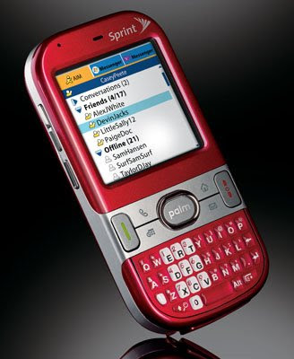 Palm centro qwerty smart phone