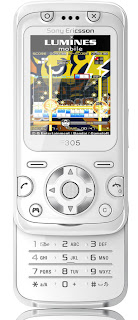 Sony Ericsson F305 with motion sensor gaming