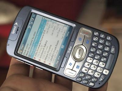 palm treo 800w latest  phone