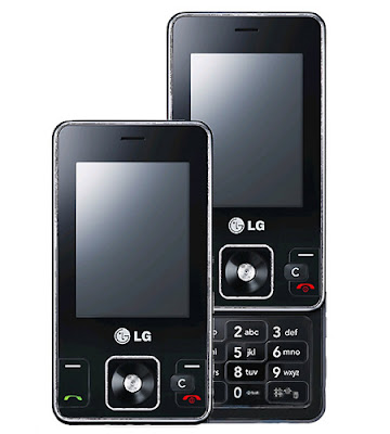 LG KC550 smart  5MP camera phone