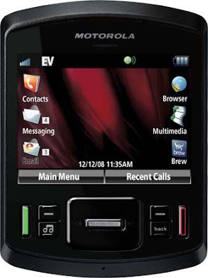 Motorola QA30 has a full QWERTY slider keypad