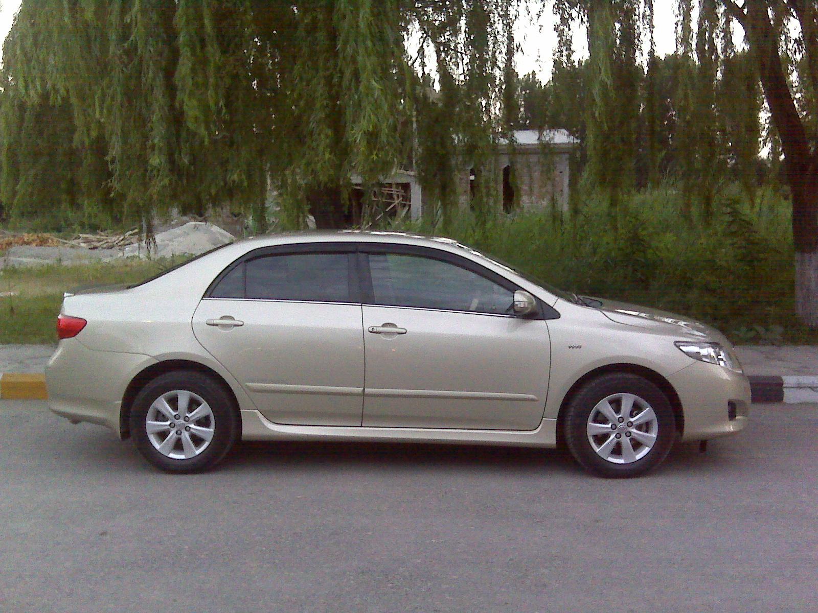 Motor Car Pictures Gli 2d Carolla