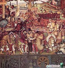 El Arribo de Hernán Cortés