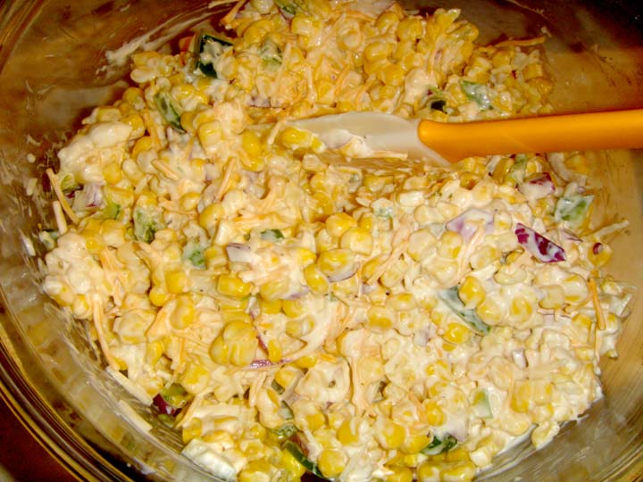 salad wraps corn chip salad 3 the salad is very easy corn chips salad ...