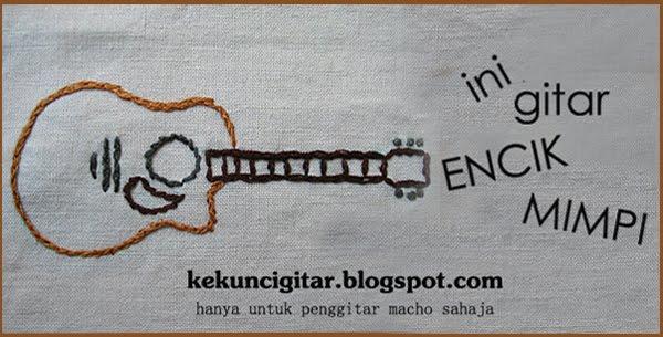 Kunci Gitar Oh Lagu Band