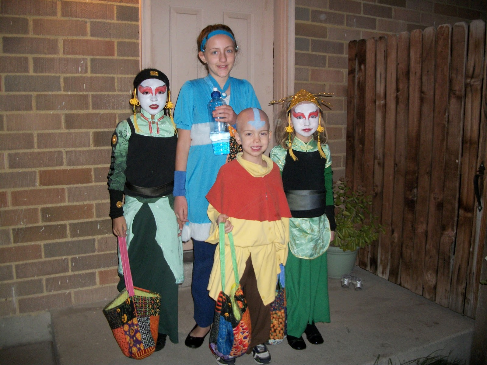 avatar the last airbender halloween costumes