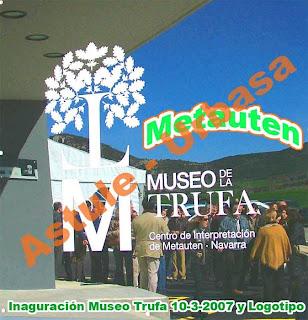 Anagrama del Mueseo de la Trufa de Metauten