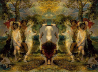 Mirrored Judgment of Paris