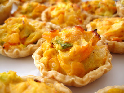 my kitchen snippets seafood tarts