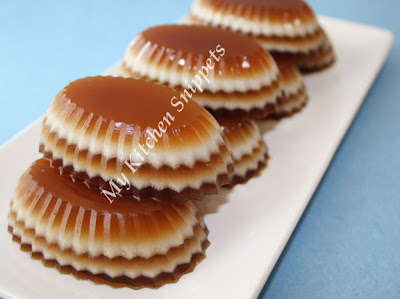 My Kitchen Snippets: Coffee and Coconut Milk Jelly (Agar-Agar)