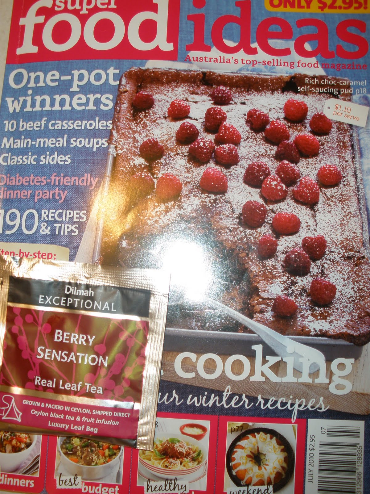 Sunday in my kitchen 2010 the magazine that this recipe comes from super food ideas is an absolute little ripper of a mag and for 295 its a bargain with lots of other recipes forumfinder Gallery