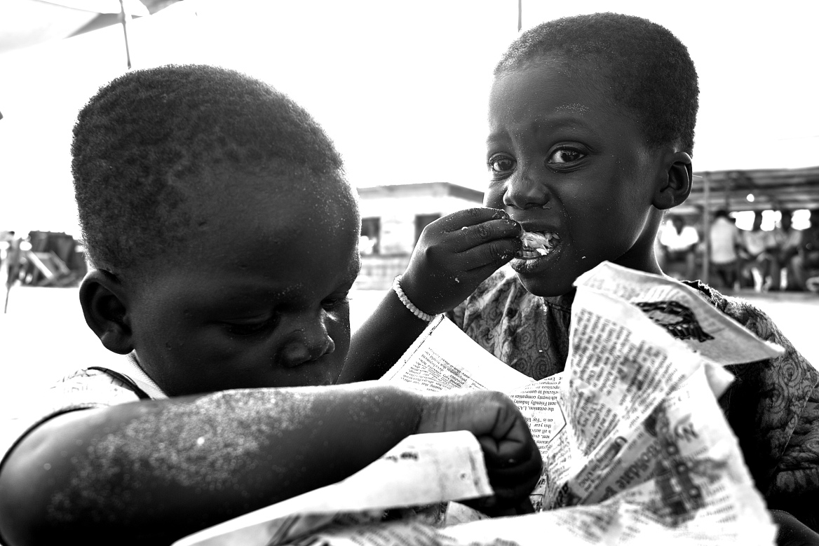 Poor African Children Poverty in Africa