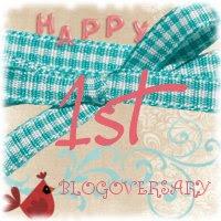 Blogom első szülinapja / My 1st blogoversary