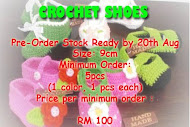 Crochet Shoes-READY NOW!!!!!!!!!!!!