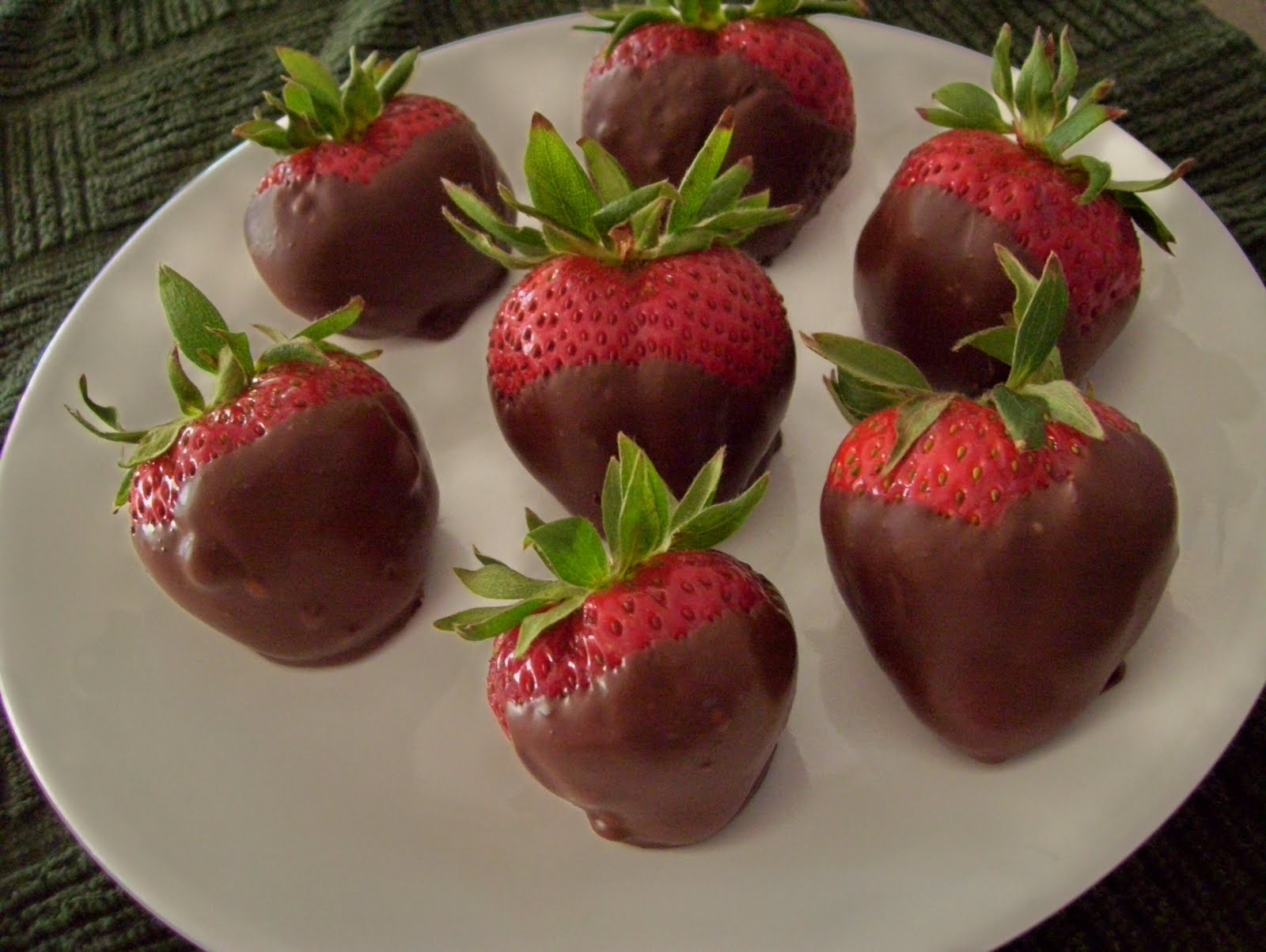 Food Memories: 33. Chocolate Covered Strawberries - Fun Food