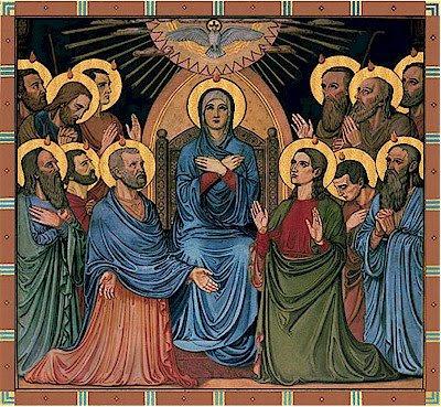 Piav txog lub Koom Txoos rau cov me nyuam yaus Pentecost