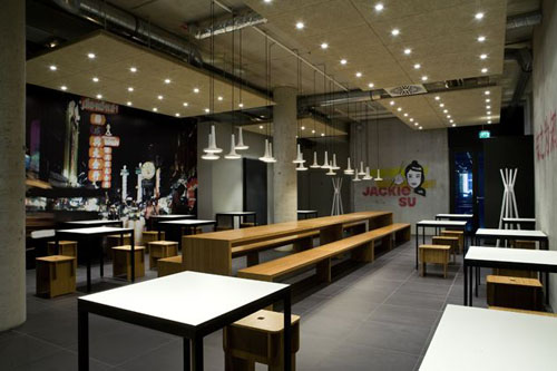 Studiohaus Food Design Lifestyle Chinese Restaurant Interior Design In Bremen City Center
