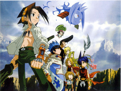 shaman king wallpapers. shaman king wallpapers.