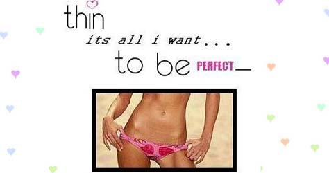 Want To Be Perfect