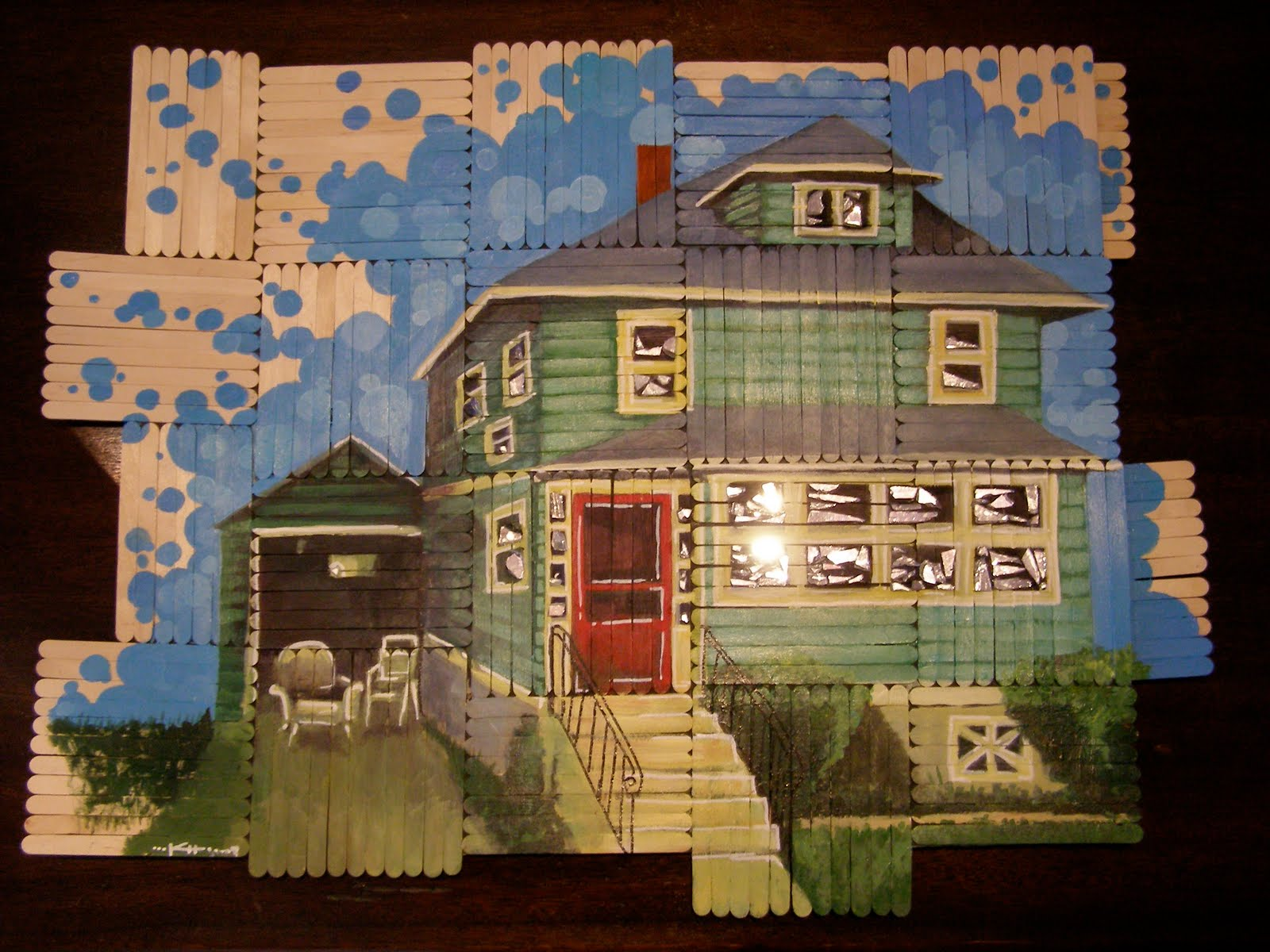 Popsicle House Pictures