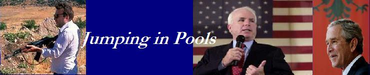 Jumping in Pools
