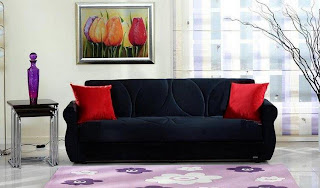 ������� ���� Black Melody Red Pillow.jpg