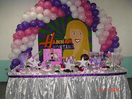 Decoração Hannah Montana
